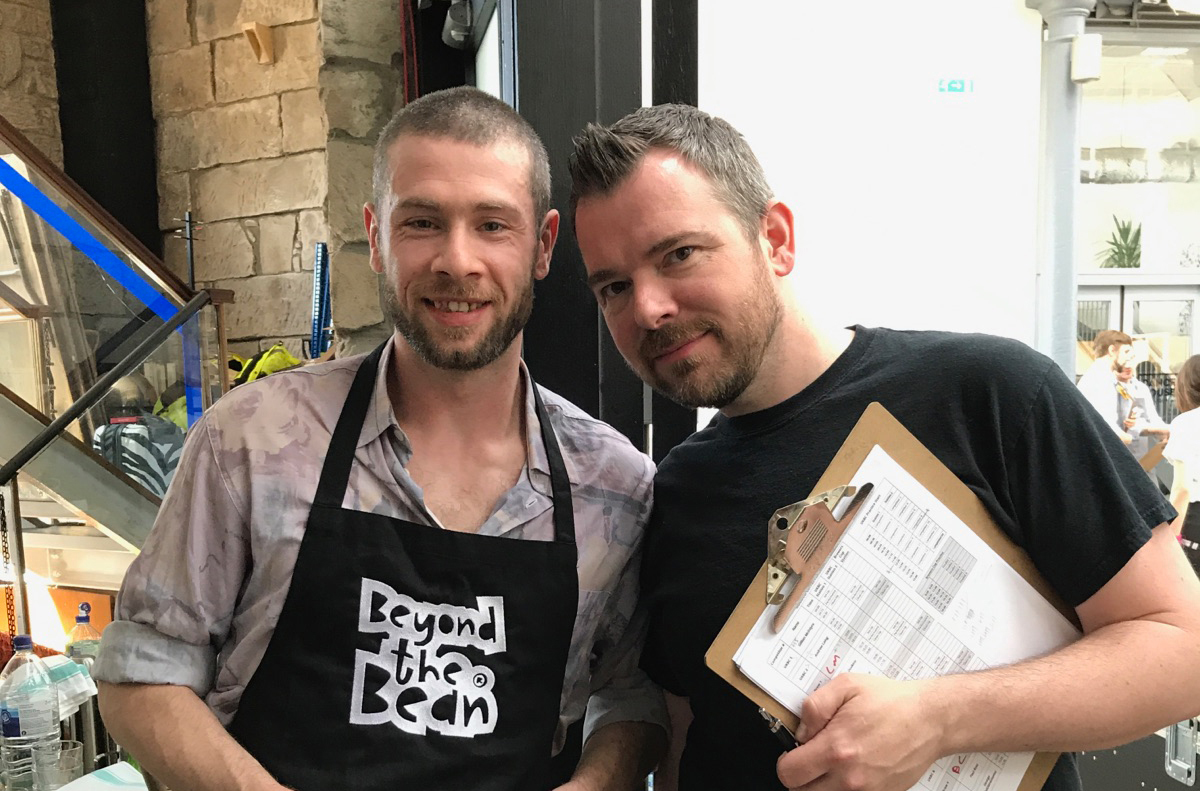 BTB Barista Bursary winner Darryl Docherty is through to the UKBC Semi-finals